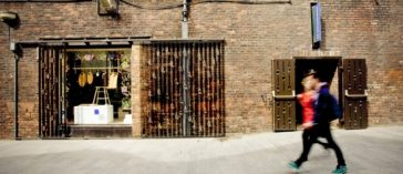 The Bluecoat Display Centre, Liverpool - first stockist of The Wild Dyery naturally dyed textiles