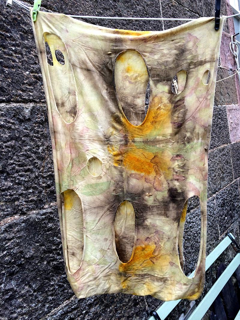 silky merino scarf justine aldersey williams india flint workshop 2015