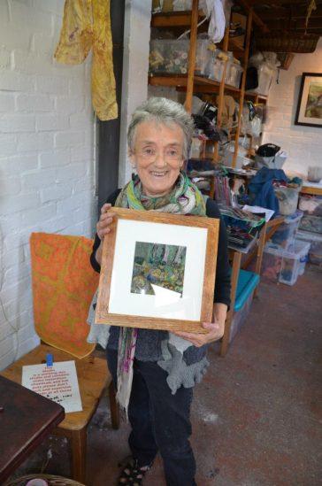 Helen Melvin felt artist
