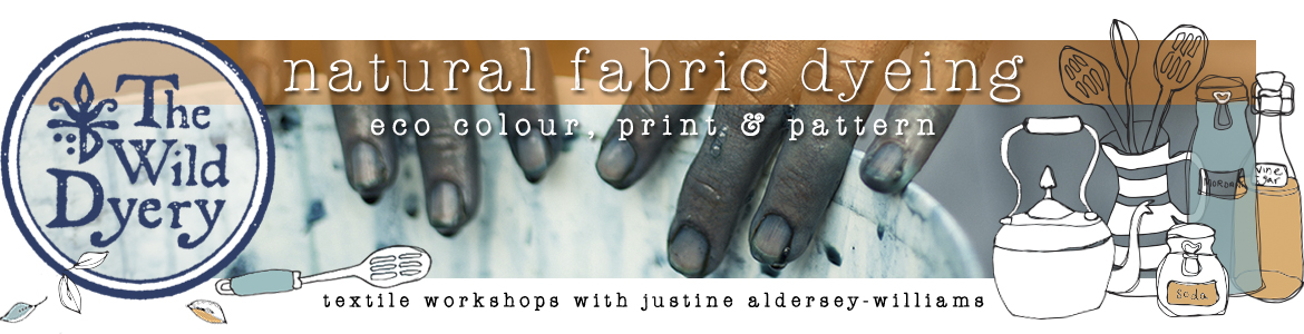 The Wild Dyery's Natural Fabric Dyeing: Eco Colour, Print and Pattern Online Training